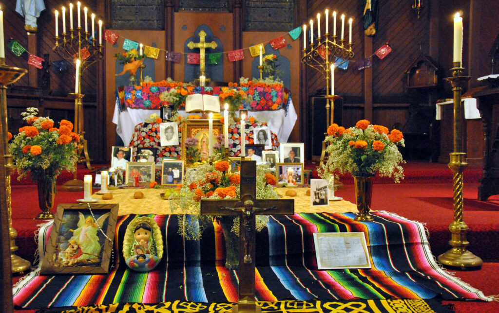 An example of an ofrenda